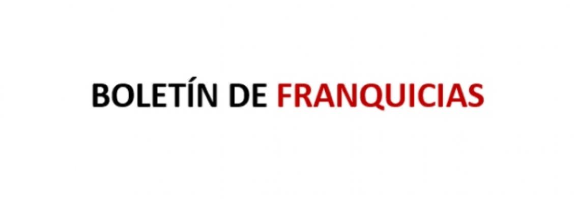 Boletín mensual del Sector de la Franquicia