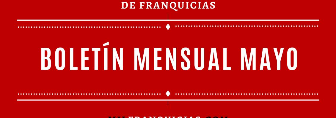 BOLETÍN MENSUAL DE MAYO