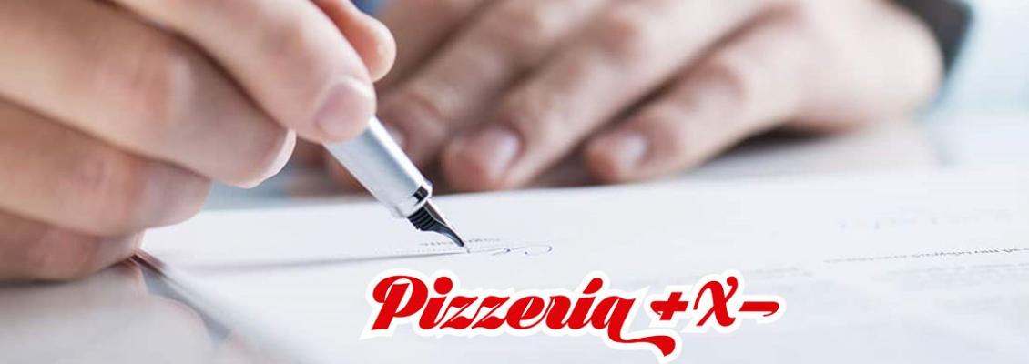 PIZZERÍA +X- FIRMA UNA NUEVA FRANQUICIA